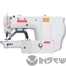Bruce BRC 1900BSK Электронная закрепочная машина в комплекте с набором частей для пришивания пуговицы