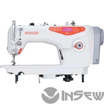 Bruce BRC RA4HQ-7 1-игольная машина с автоматической обрезкой нити, подъемом лапки, электронная панель