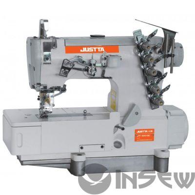 JUSTTA JT-500-01D распошивальная 3-игольная, 5-ниточная