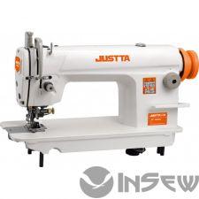JUSTTA JT-5200H прямострочная с обрезкой края ткани