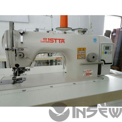 JUSTTA JT-5200HD прямострочная с обрезкой края ткани