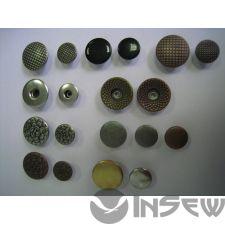 Пуговица-заклёпка в любом оттенке и размере