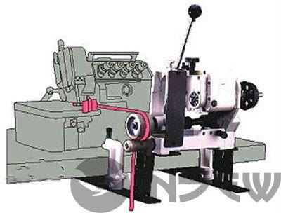 Racing PK Устройство для продвижения материала (пуллер) для оверлоков