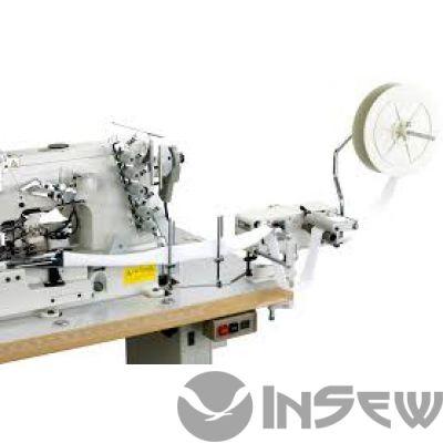 Racing TFS-26-3 Боковое устройство принудительной подачи тесьмы (резинки) для промышленных швейных машин