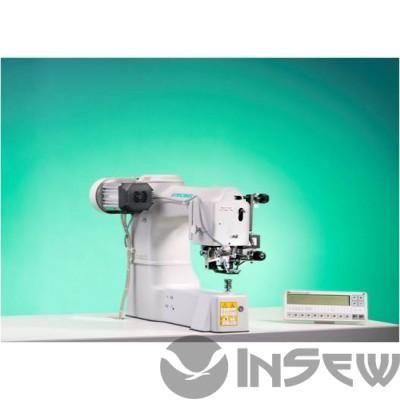Strobel class 560-21-IPC1 Однониточный автомат потайного стежка для точечного крепления