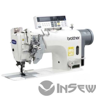 Brother T8752C-405 2-игольная машина с автоматическими функциями обрезки ниток и закрепки