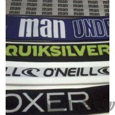 Резинка на одежду с логотипом