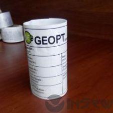 Печать бумажных этикеток (акмаз)