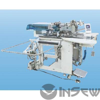2-игольная машина челночного стежка для изготовления прорезных карманов «в рамку» Juki APW896-S10QM4K
