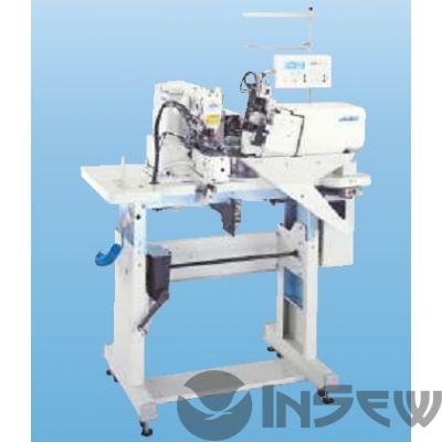 Автоматическая 2-игольная машина для притачивания шлевок для джинсовых тканей Juki MOL254M-ABC