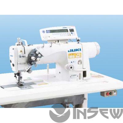 Juki LH3528AFD-A00S Двухигольная швейная машина челночного стежка