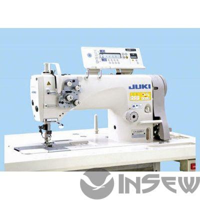 Juki LH3528A FDA0BS AK135 Двухигольная швейная машина челночного стежка