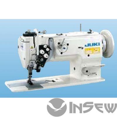 Juki LU1561ND-70BBZZ 2-игольная швейная машина челночного стежка с унисонной подачей и большим челноком с вертикальной осью вращения и автоматической обрезкой нити
