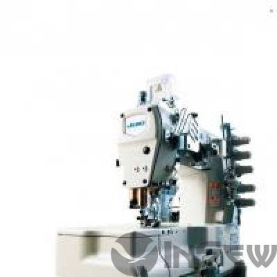JUKI MF7523DC11 3-игольная пятиниточная плоскошовная швейная машина