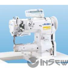 Juki LS1342 1-игольная швейная машина челночного стежка с унисонной подачей, цилиндрической платформой и челноком с вертикальной осью вращения
