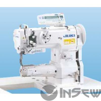 Juki LS1342-70BB 1-игольная швейная машина челночного стежка с унисонной подачей, цилиндрической платформой и челноком с вертикальной осью вращения и автоматической обрезкой нити