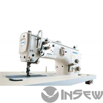 Juki LU2810AS 1-игольная швейная машина челночного стежка с унисонной подачей и большим челноком с вертикальной осью вращения