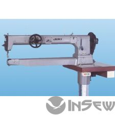 Juki TSC461U 1-игольная швейная машина челночного стежка со сверхдлинной цилиндрической платформой и большим качающимся челноком для шитья сверхтяжелых материалов
