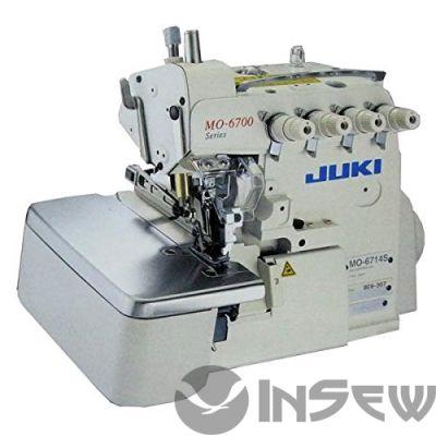 JUKI  MO6714S- BE6- 40H-BBO 2-х игольный, 4-ти ниточный стачивающее-обмёточный оверлок с нижним дифференциальным транспортом