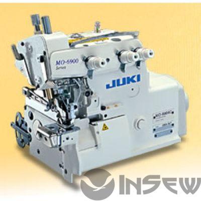 Juki MO6904C-0E6-307 Супер высокоскоростная, краеобметочная машина (оверлок) с цилиндрической платформой