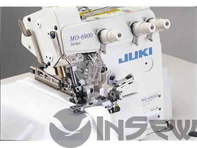 Juki MO6904S-0D4-3F6 Супер высокоскоростная стачивающе-обметочная машина / оверлок