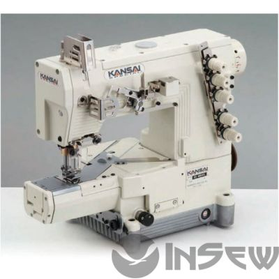 Kansai NRE-9803 трехигольная плоскошовная швейная машина