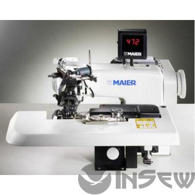 Подшивочная швейная машина MAIER 252 автомат для подшива низа пальто, плаща, пиджака