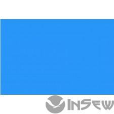 Голубой перфорированый 100% полиестер для столов - легкий вес