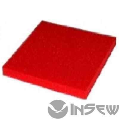 Розовая силиконовая пенка толщ. 10 мм