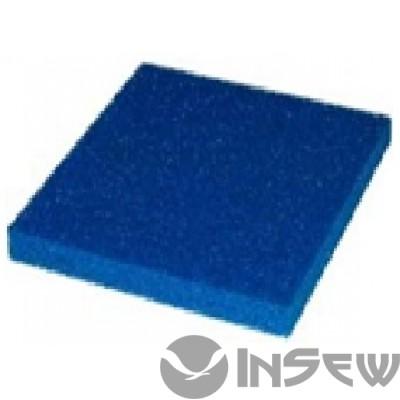 Светло голубая силиконовая пенка толщ. 10 мм