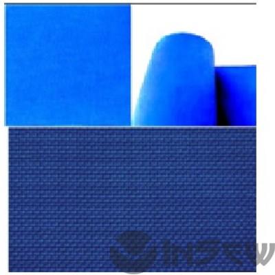 Голубой полиестер 100% для столов - лёгкий вес. Хорошо продуваемая.