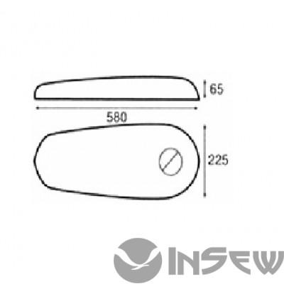 RA-14 - Mushroom buck (heated) - подушка