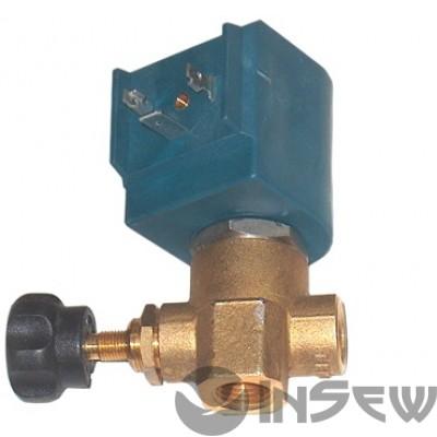 """SSV/4 - 1/4"""" Электро паровой клапан с регулировкой"""