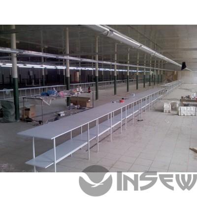 Межстолье для швейного производства 2500*500