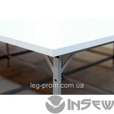 Раскройный стол с стыком из полимера труба 40х20
