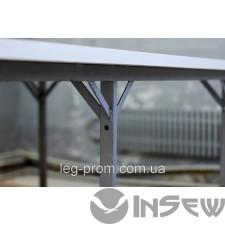 Раскройный стол с стыком из полимера труба 50х25