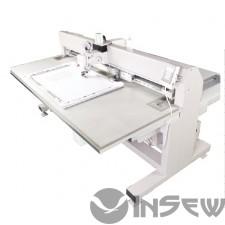 SunStar SPS/S-5050G-HC Электронный полуавтомат челночного стежка для обработки деталей по шаблону