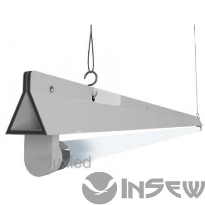 Светильник под светодиодные лампы Т8 G13 600 мм (двухместный прямоугольный)