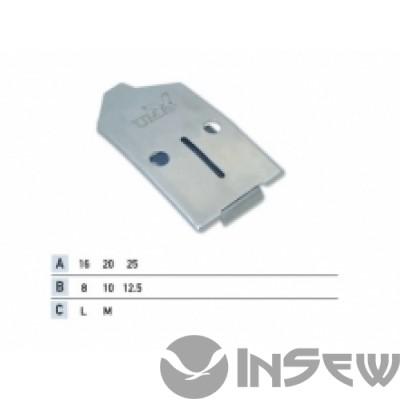 UMA-108 Приспособление для притачки шлевки встык снизу