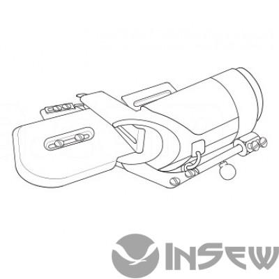 UMA-110-K Приспособление для втачки цельнокроенного пояса с изгибом в четыре сложения