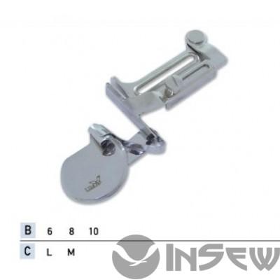 UMA-136 Приспособление для подгибки пояса вверх с закрытым срезом для эластичных тканей