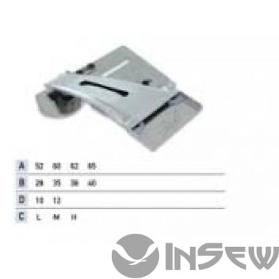UMA-166 Приспособление для накладной планки с клеевой