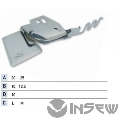 UMA-196 Приспособление для втачки канта со шнуром