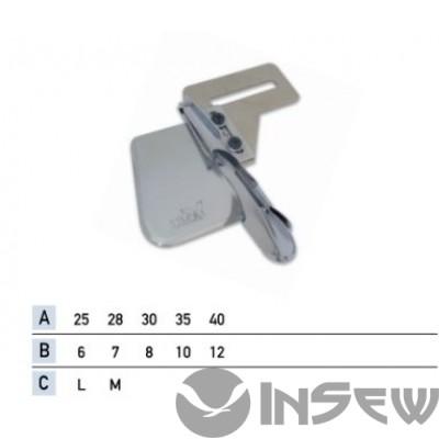 UMA-215 Приспособление для окантовки бейкой в четыре сложения
