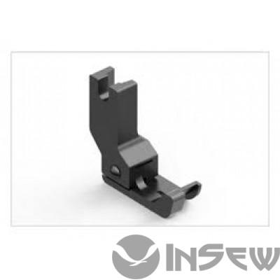 UMA-352-L Шаблон для отделочной строчки воротника сорочки