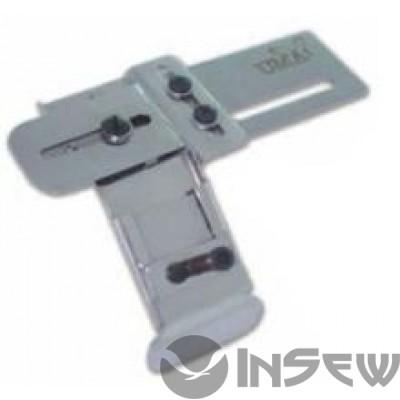 UMA-80-A Приспособление для притачки резинки снизу по срезу на оверлоке (регулируемое)