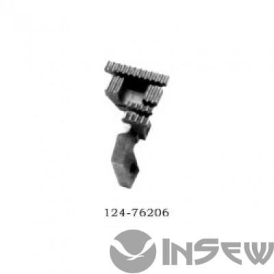 Двигатель ткани 124-76206 Juki