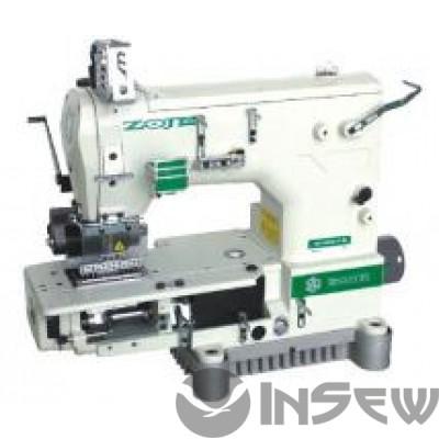 ZOJE ZJ-1414-100-403-601-615-12064 Двенадцатиигольная машина с цилиндрической платформой